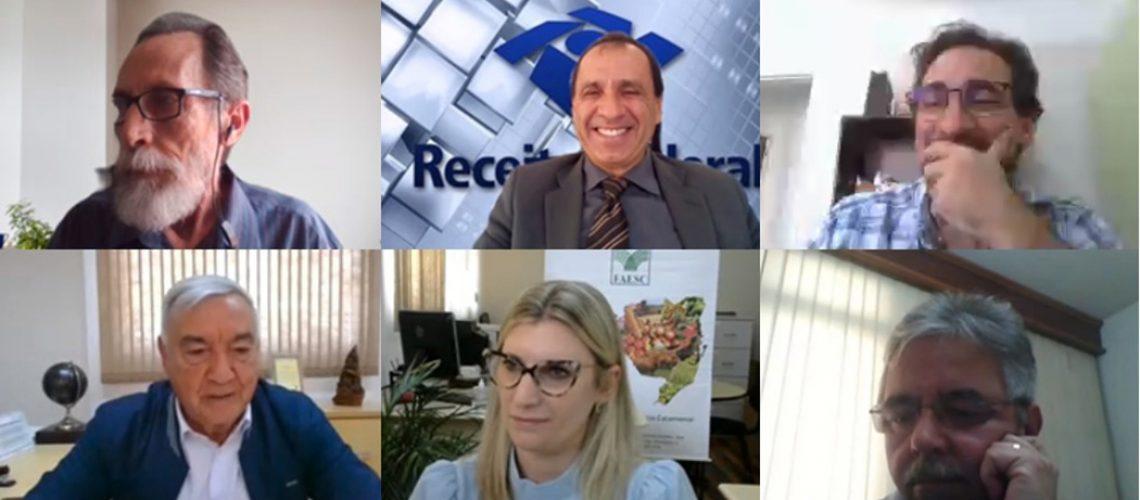 O objetivo da videoconferência foi abordar a Legislação do ITR e o cumprimento das obrigações