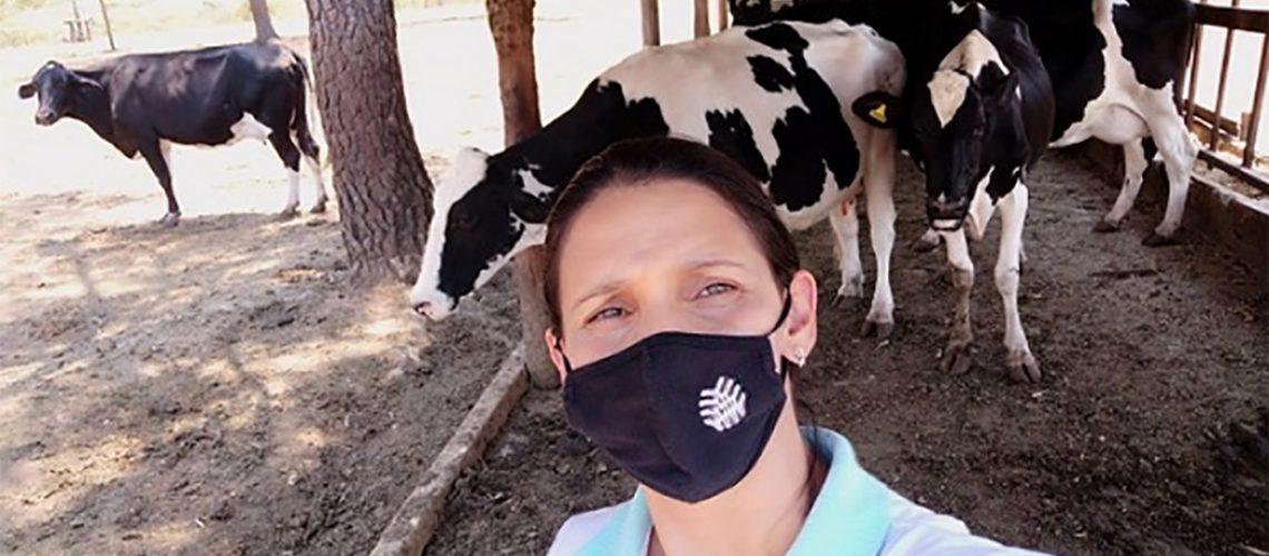 Ana Paula estudou zootecnia na UPIS