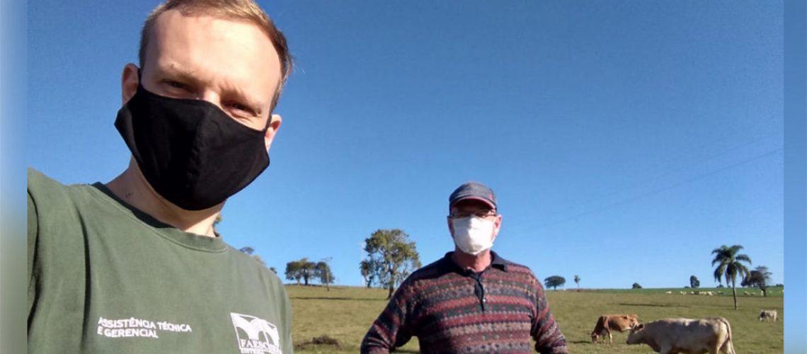 O produtor rural precisa redobrar os cuidados para evitar a contaminação/foto: Internet