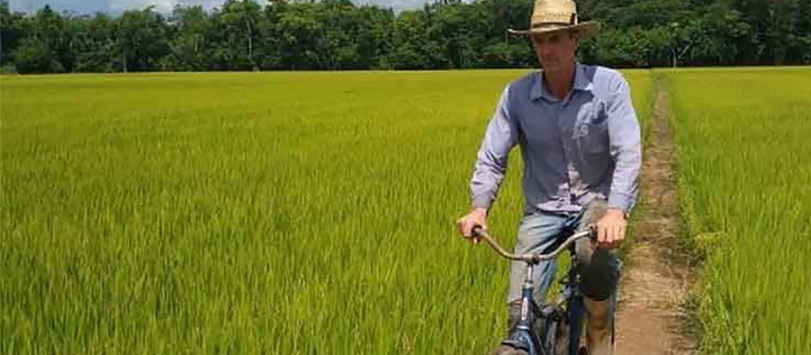 Usar a água com responsabilidade é a primeira lição para quem produz arroz irrigado/Foto: Internet