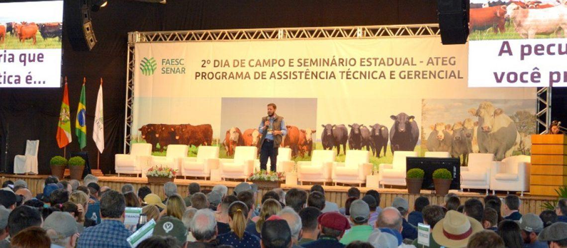 Cerca de 1.500 produtores participaram do Seminário/Foto: Assessoria de Imprensa