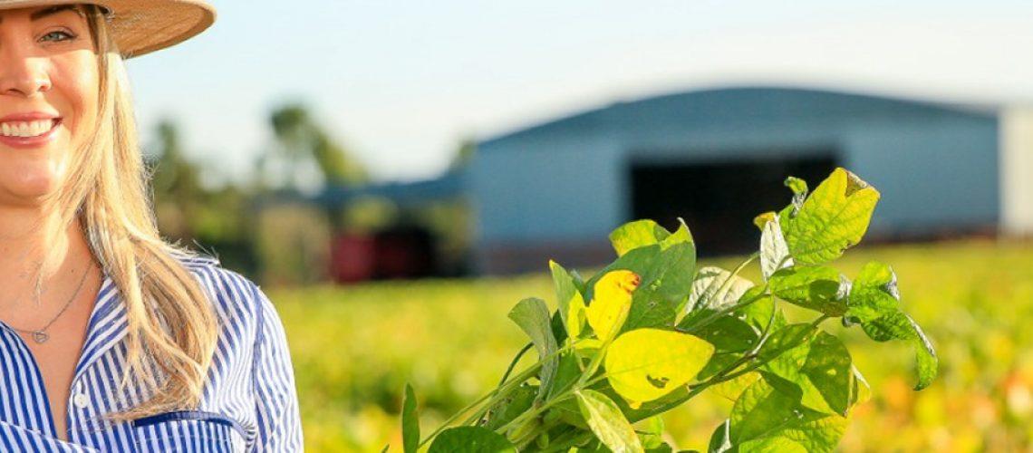 O empoderamento da mulher no agronegócio mundial tem impactos extremamente positivos/Foto: Divulgação Internet