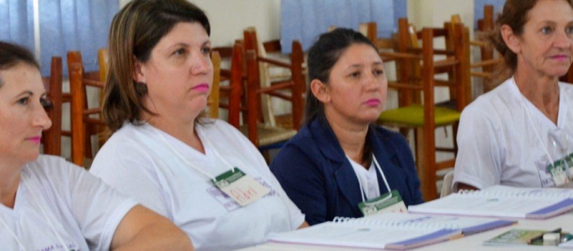 A turma de 15 mulheres foi mobilizada por meio da Souza Cruz
