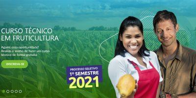 Inscrições para o processo seletivo vão até 27/01 pelo site http://www.senar.org.br/etec/