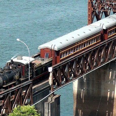 O Corredor Ferroviário que Santa Catarina procura é aquele que ligará o Oeste ao Leste do Estado/Foto: Bom Dia SC