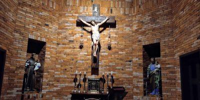Capela na Pousada dos Capuchinhos em Vila Flores-RS/Foto: Bom Dia SC