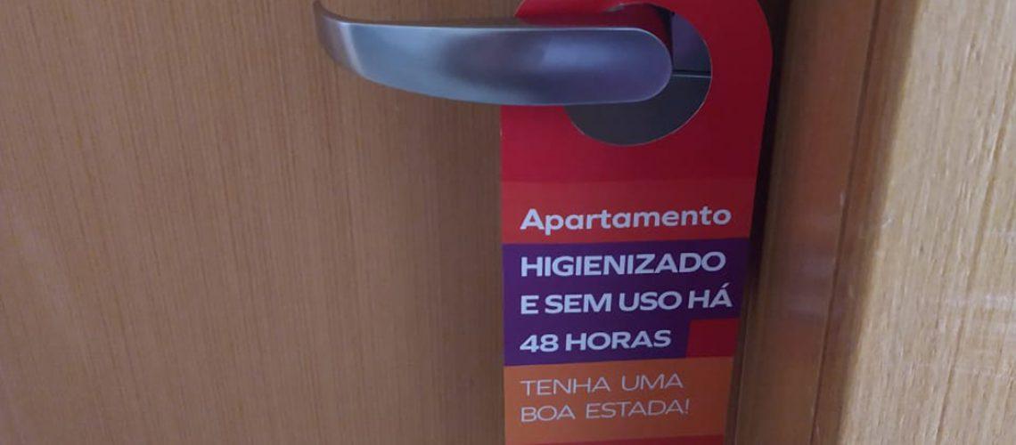 O hóspede pode ficar tranquilo. Ficar num hotel é seguro do check-in ao check-out /Foto: Bom Dia SC