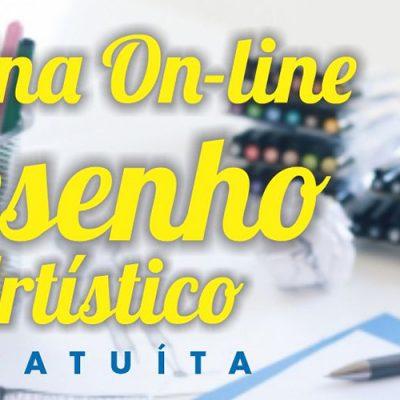 A Oficina de Desenho Artístico será on-line e é gratuita
