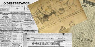 Esta no ar, no site da Biblioteca Pública de Santa Catarina, os dois volumes do Catálogo de Jornais Catarinenses/Foto: Divulgação/FCC
