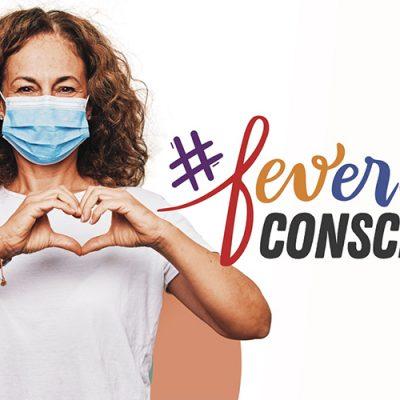 'Fevereiro Consciente – Todos mascarados, seguros e unidos pela cura'