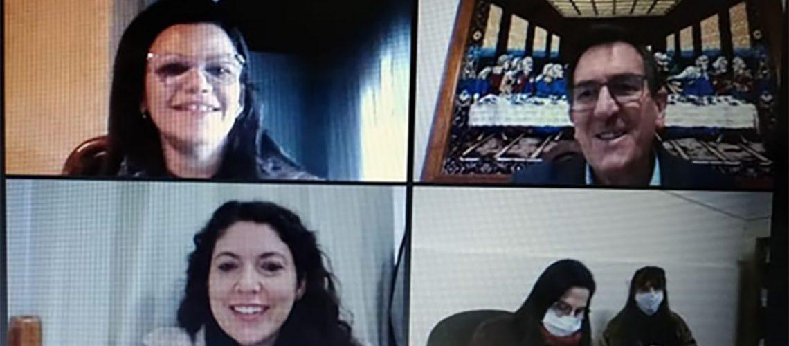 Professores interagindo durante a atividade/Foto: Assessoria de Imprensa
