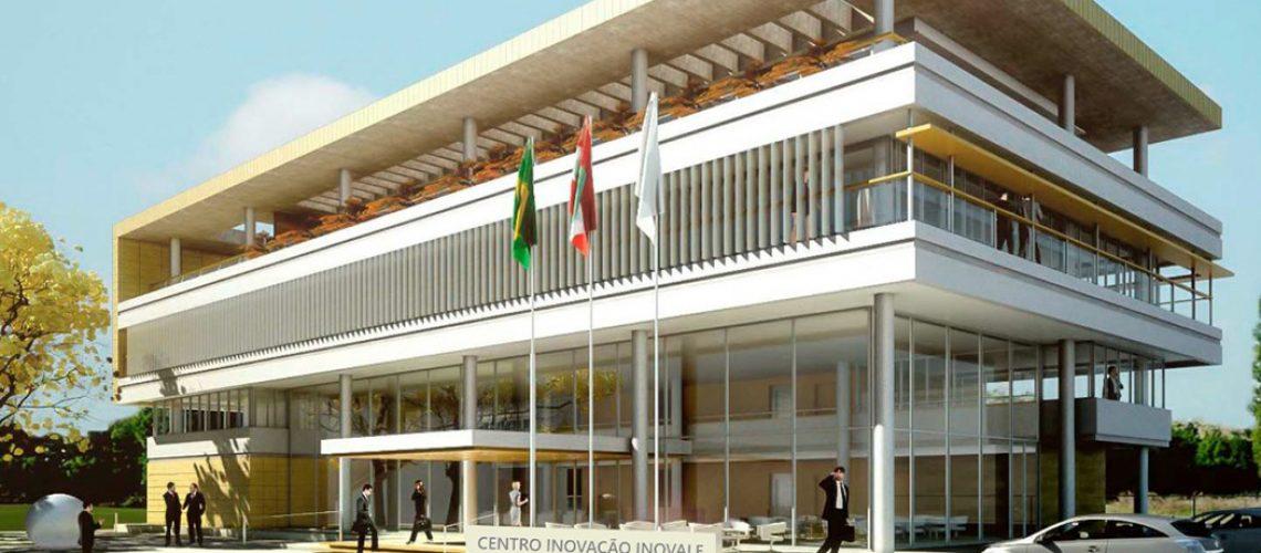 A obra do Centro de Inovação tem 2.300 m2 em prédio de quatro pavimentos e teve investimento total de mais R$ 7 milhões