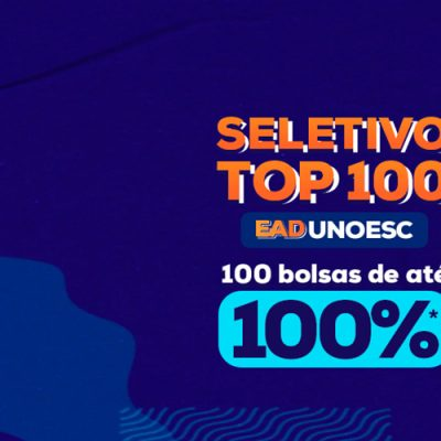 Essa é a primeira vez que a universidade realiza o Seletivo TOP 100