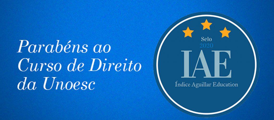 Curso de Direito da Unoesc é classificado entre os melhores do Brasil pelo Índice Aguillar Education