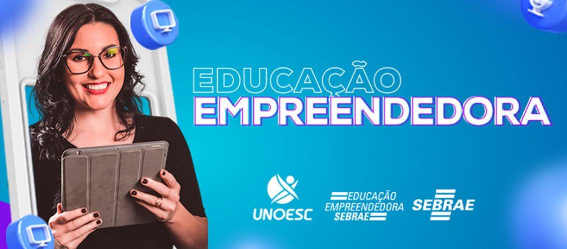 Unoesc e Sebrae promovem mais uma edição do projeto Educação Empreendedora