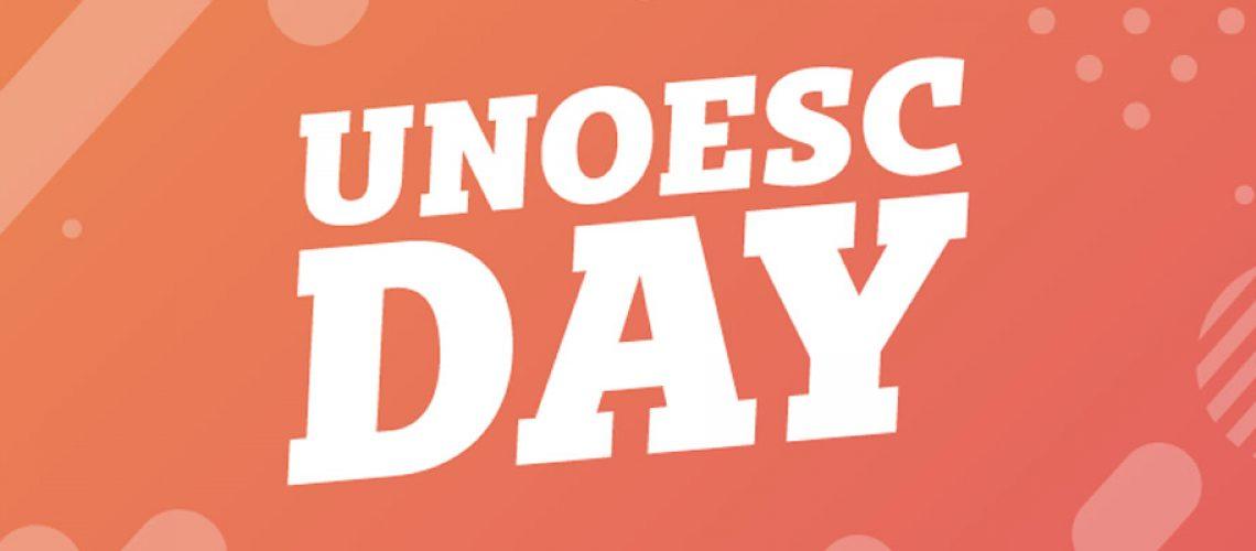 Unoesc Day acontece nos dias 12 e 13 de setembro em Joaçaba/Foto: Assessoria de Imprensa