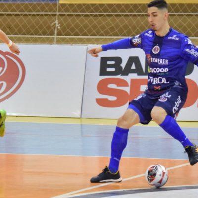 O Joaçaba Futsal empatou em 3 a 3 com o Jaraguá