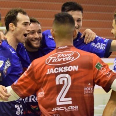 O Joaçaba Futsal soma três pontos na tabela de classificação do Grupo A