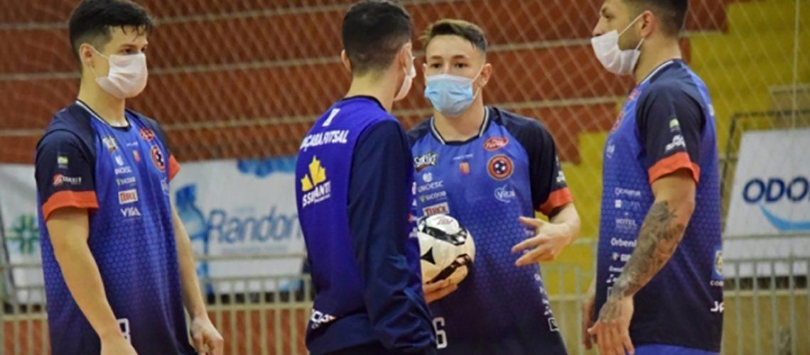 Joaçaba Futsal joga  contra o Campo Mourão nesta sexta-feira