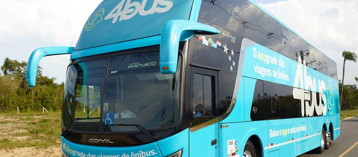 ''Uber dos ônibus'', a 4Bus é uma das pioneiras no país e ganha a cada dia mais adeptos/Foto: Assessoria de Imprensa