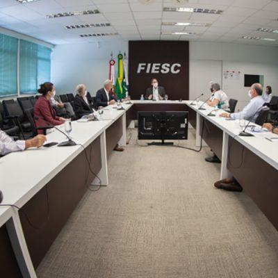 Reunião foi realizada na FIESC, em Florianópolis/Foto: Filipe Scotti