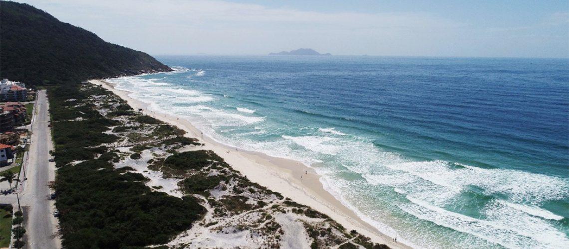 Praia dos Ingleses, em Florianópolis / Foto: Cristiano Estrela