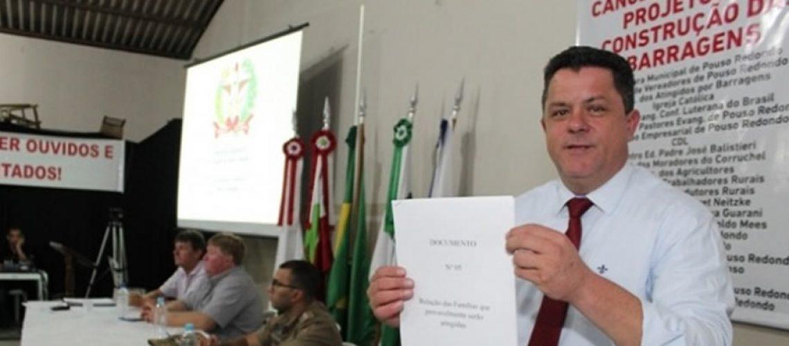 O presidente da Comissão de Turismo e Meio Ambiente da ALESC