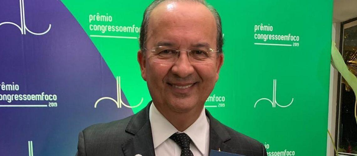 Jorginho Mello foi eleito por decisão unânime do júri técnico do Prêmio Congresso em Foco 2019/Foto: Assessorai de Imprensa
