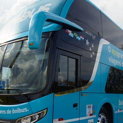 A catarinense 4bus, que opera a exemplo da Buser em todo o país