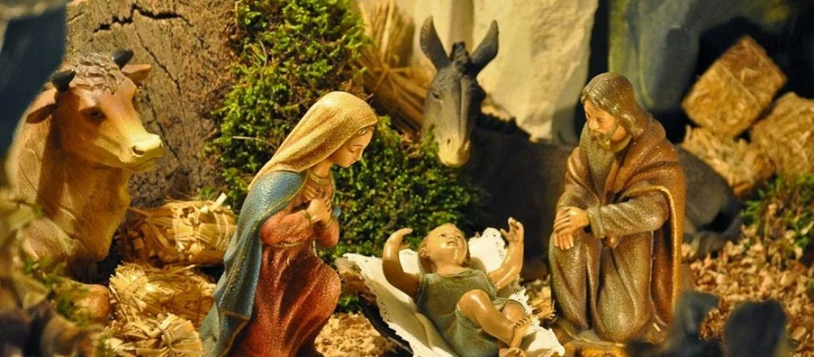 O presépio nos sinaliza para o verdadeiro sentido do Natal/Foto: Internet