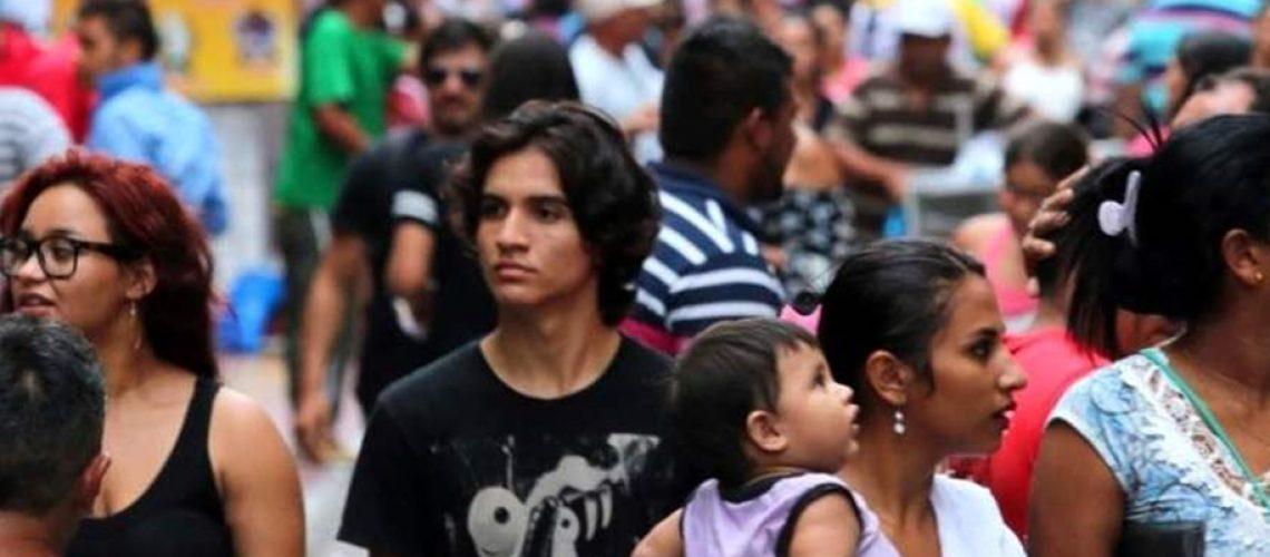 O Brasil tem uma população total de 210.147.125 pessoas/Foto: Divulgação Internet