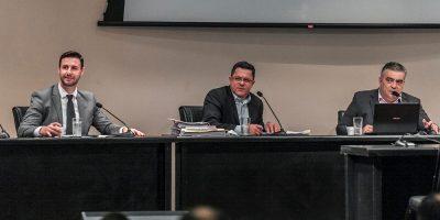 O relator deputado Ivan Naatz (PL) mantém a previsão de conclusão dos trabalhos até o final do mês de julho/Foto: Bruno Collaço  – Alesc