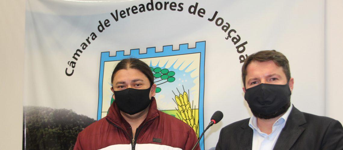 O secretário de Comunicação, Cultura, Turismo e Eventos de Joaçaba, Gustavo Deon, falou sobre a importância do Plano de Cultura e do Plano de Turismo, aprovados em 2019
