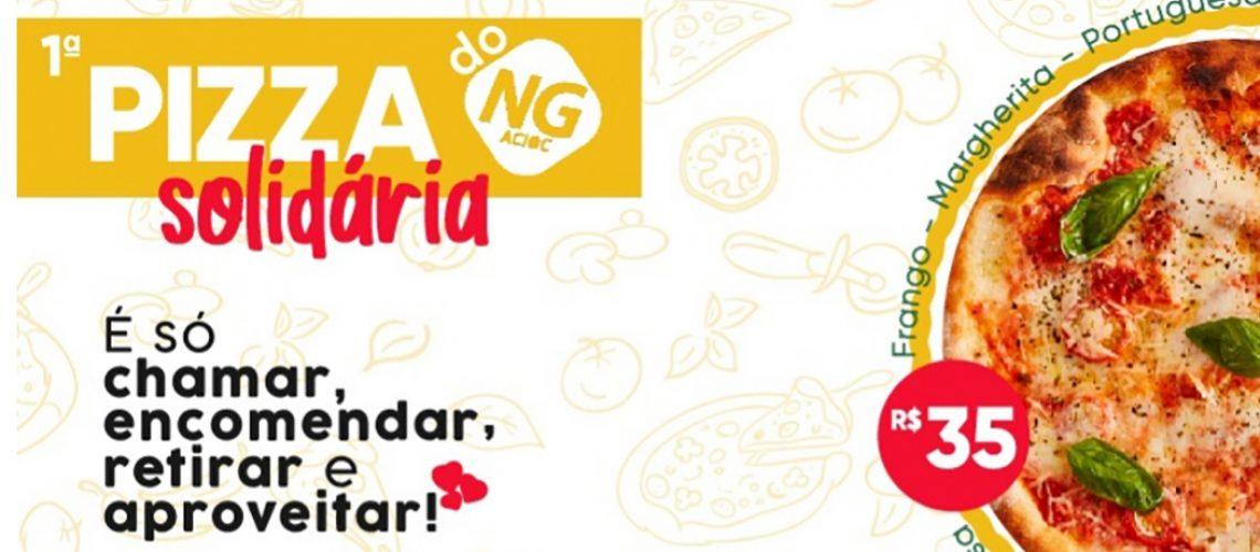 Com o objetivo fortalecer os negócios e fazer o bem, o Núcleo de Gastronomia da ACIOC está promovendo a 1ª Pizza Solidária