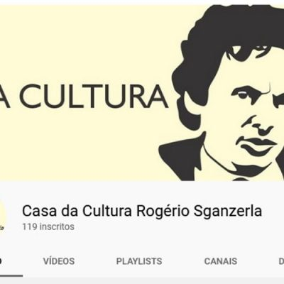 Casa da Cultura Rogério Sganzerla tem um canal no Youtube