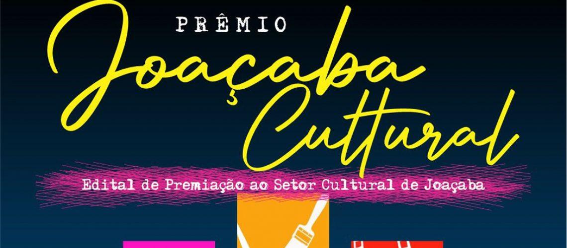 Intendência de Cultura lança edital do Prêmio Joaçaba Cultural 2021