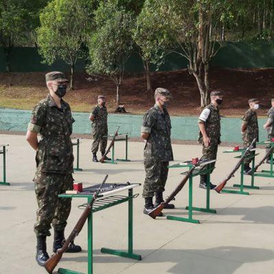 Se tratou de uma visita de Orientação Técnica do Comando da 5ª Região Militar