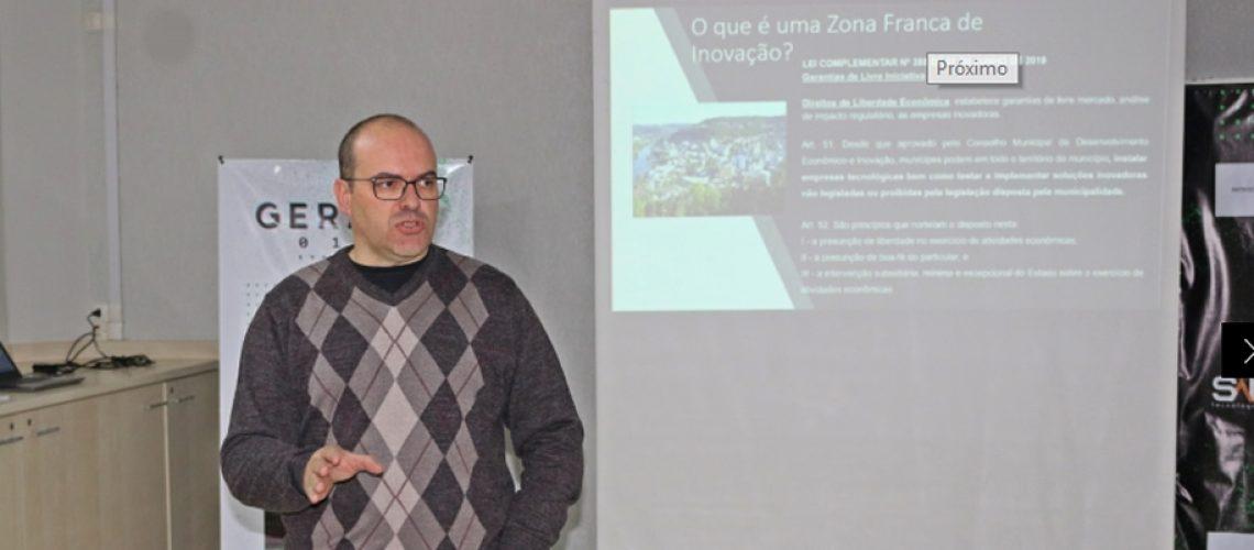 O secretário de desenvolvimento econômico de Joaçaba