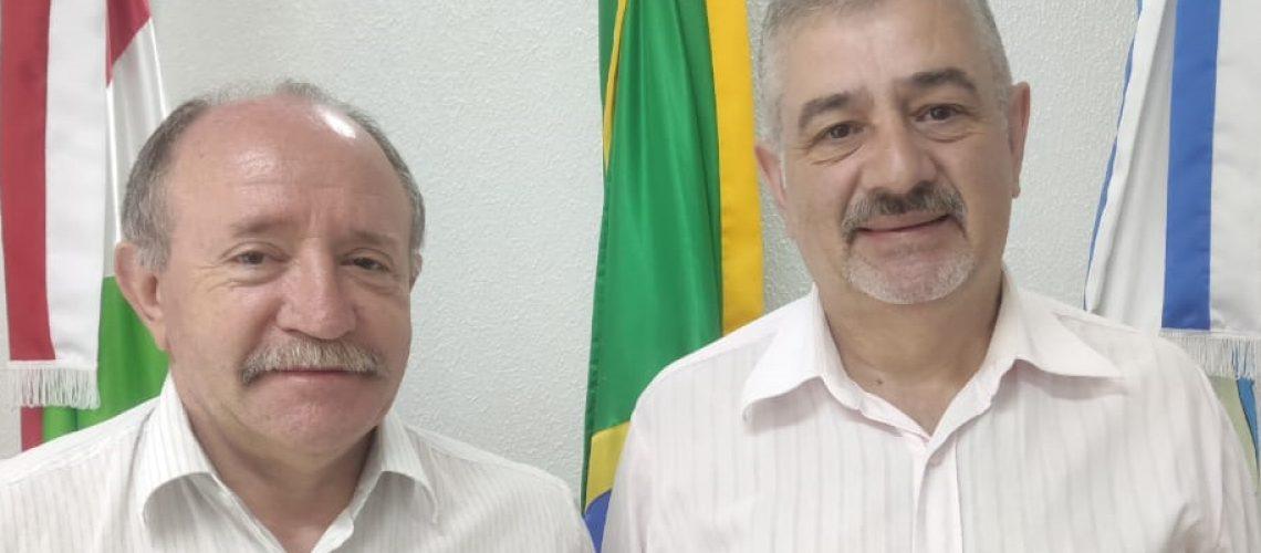 O vice-prefeito Jucelino Ferraz assumiu o comando da prefeitura
