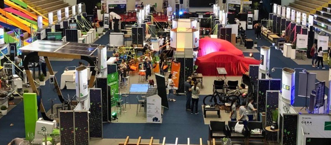 Centro de Eventos da Unoesc onde acontecerá a exposição de mais de 60 empresas/Foto: Assessoria de Imprensa