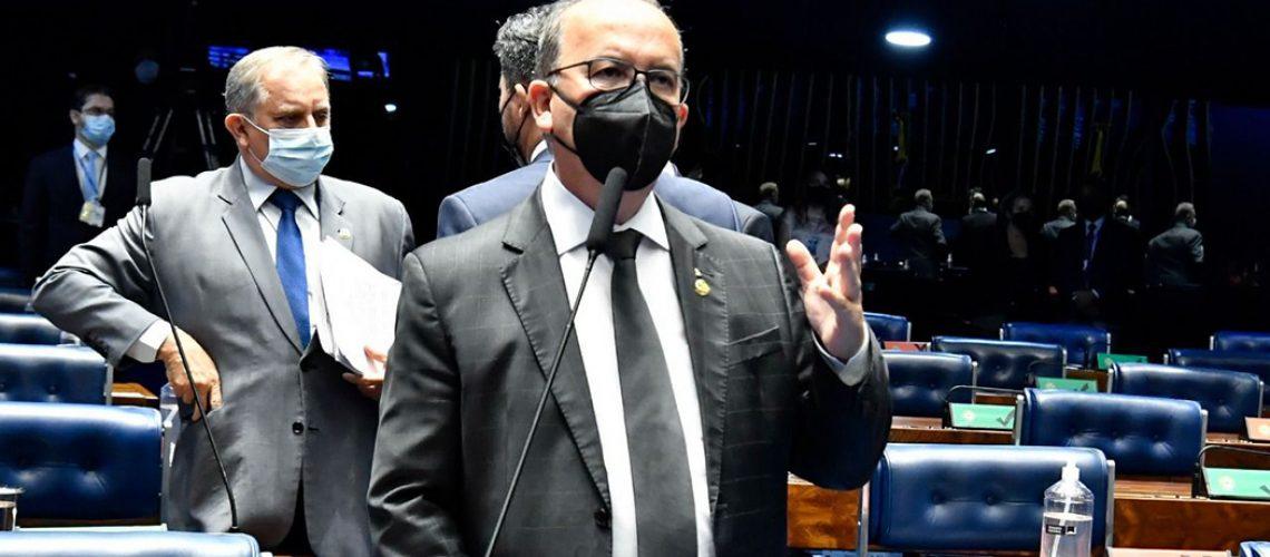 O senador Jorginho Mello (PL-SC) articulou, junto com a bancada federal catarinense, a recomposição de R$ 137 milhões do PLN 15 e PLN 20/Foto: Waldemir Barreto/Agência Senado