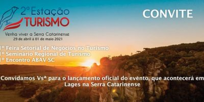 O lançamento da Estação Turismo 2021 está marcado para o dia 24 de fevereiro, no CentroSerra, a partir das 19h