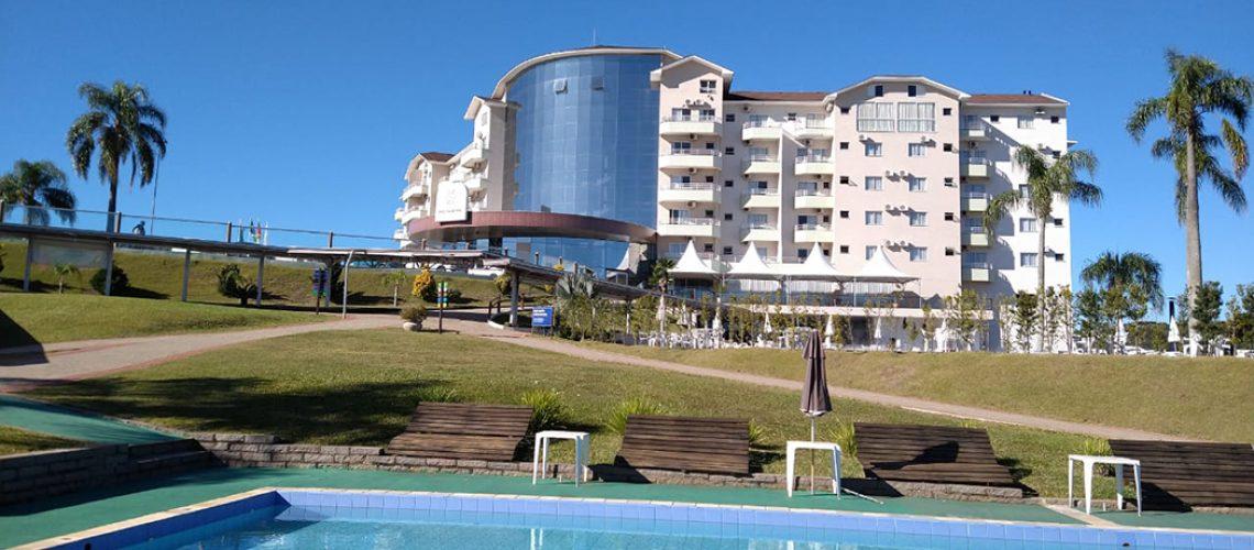 Machadinho Thermas Resort SPA/Foto: Bom Dia SC