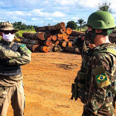 Nos estados do Acre e Rondônia, os maiores problemas são as madeireiras ilegais/Foto: Internet