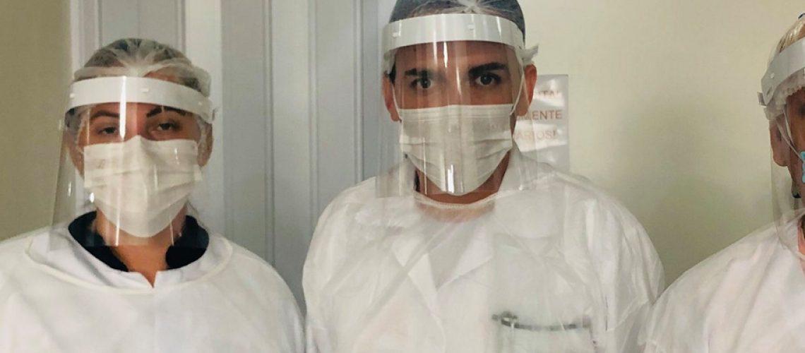 As máscaras foram desenvolvidas para proteger pessoas que exercem funções essenciais/Foto: Assessoria de Imprensa