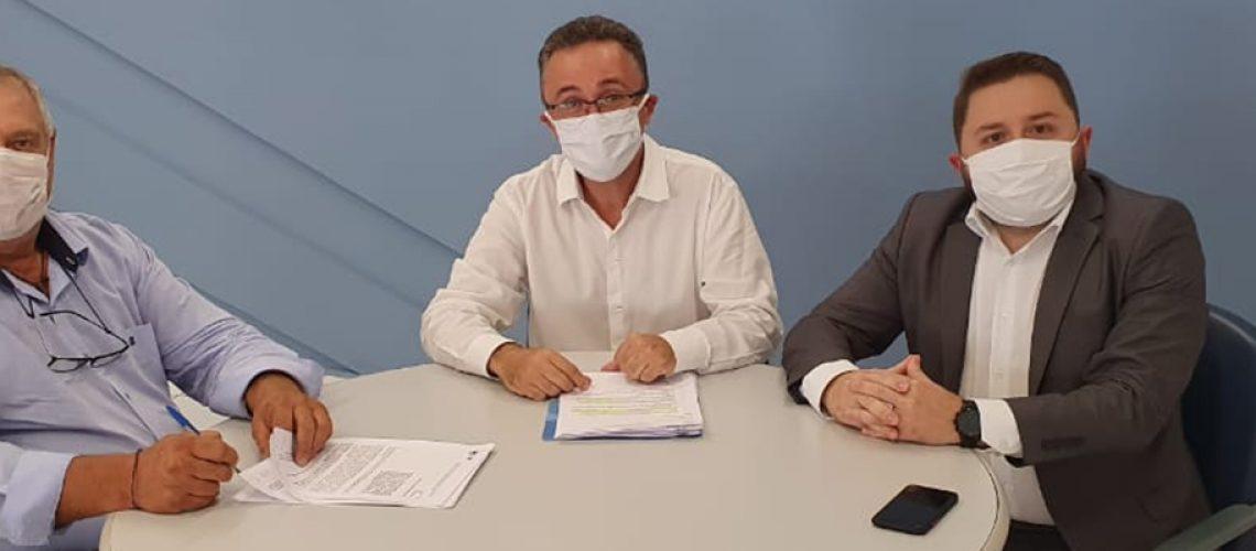 O Prefeito Pedro Rabuske assinou nesta semana