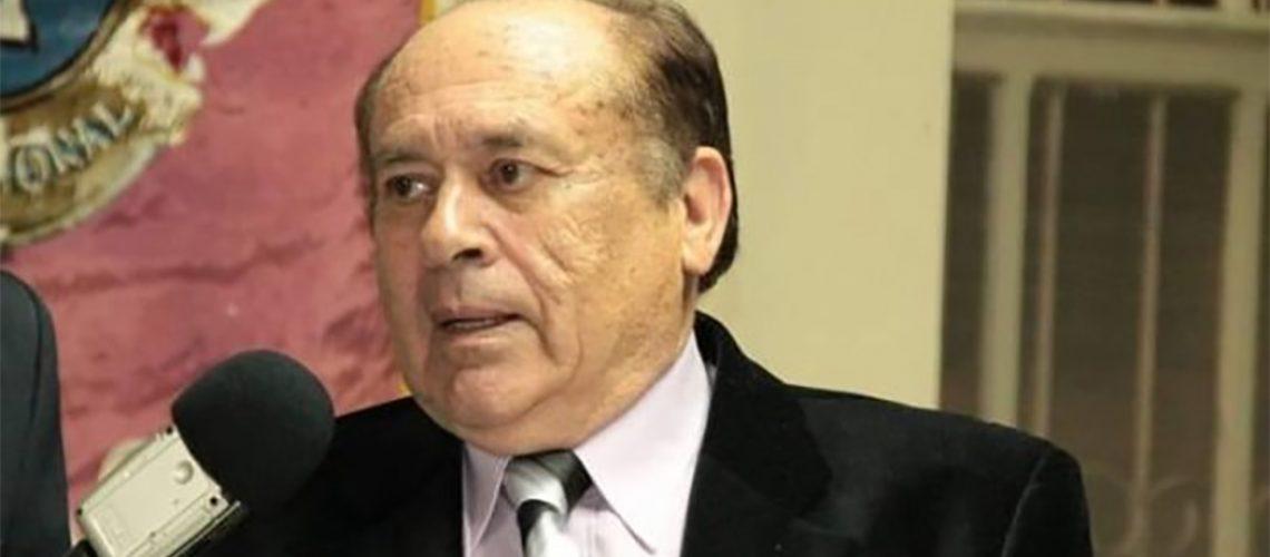 Ex-governador Henrique Córdova, faleceu aos 82 anos