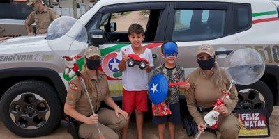 Através da campanha inúmeras crianças puderam celebrar a data com a colaboração daqueles que tem mais condições
