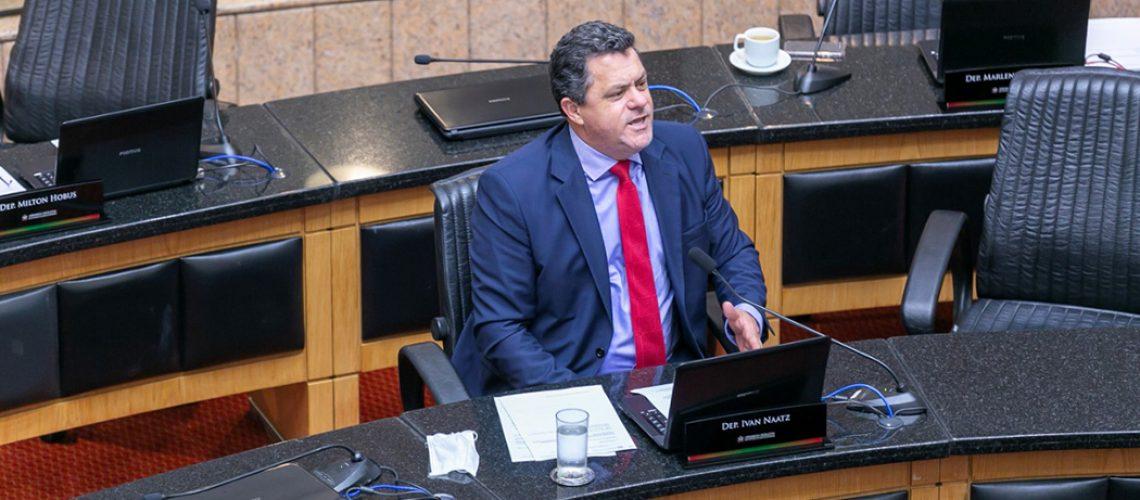 Ivan Naatz(PL) - Deputado estadual e presidente da Comissão de Turismo e Meio Ambiente da ALESC/Foto: Fábio Queiroz