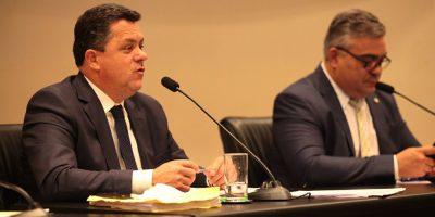 Relator da CPI, deputado Ivan Naatz (PL)/Foto: Rodrigo Collaço/Alesc
